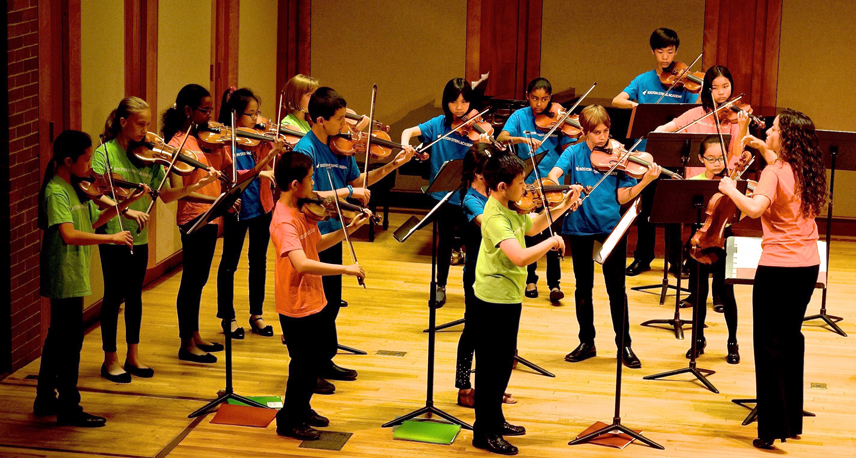Boston String Academy youth concert. Photo courtesy Marielisa and Mariesther Alvarez.