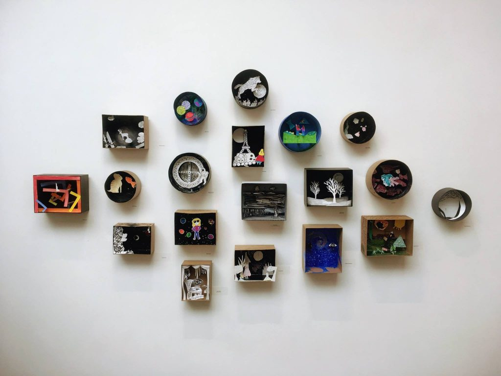 "Provincetown Art Association and Museum's ""Shadowboxes"" Art on the Edge Exhibition"