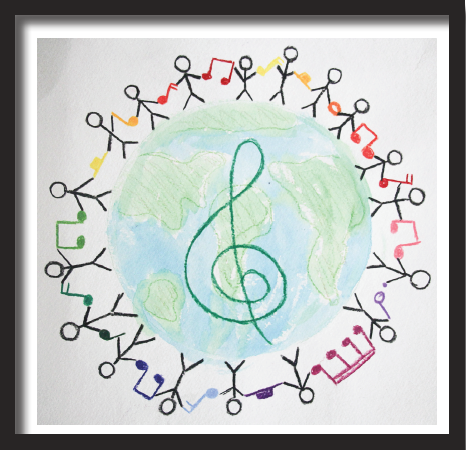 Drawing by Kristen, Boston City Singers Tour Choir