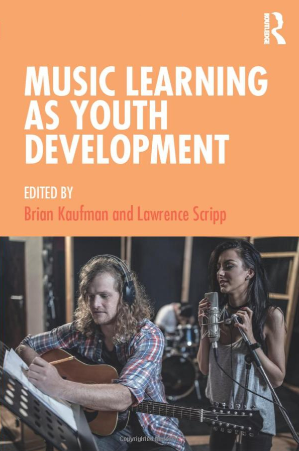 Cover art for the book Music Learning as Youth Development.